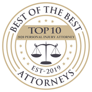 Best of the Best Top 10 Personal Injury Attorney 2020